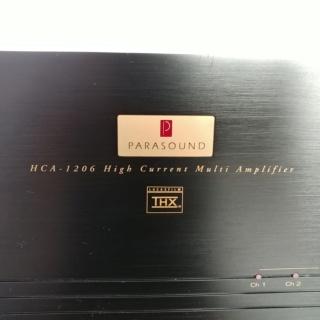 Parasound USA made 6 Channel High Current Power Amplifier HCA-1206 20190821