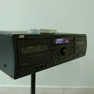 JVC TD-W254 full-logic Double Cassette Tape Player 20190826