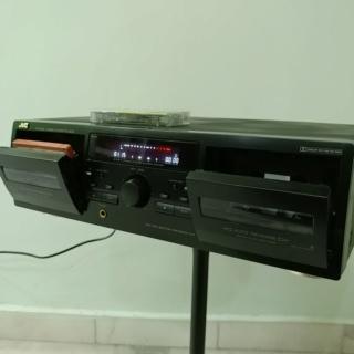 JVC TD-W254 full-logic Double Cassette Tape Player 20190827