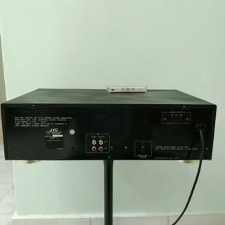 JVC TD-W254 full-logic Double Cassette Tape Player 20190828