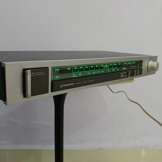 Pioneer vintage Analog FM Tuner TX-540 20190915