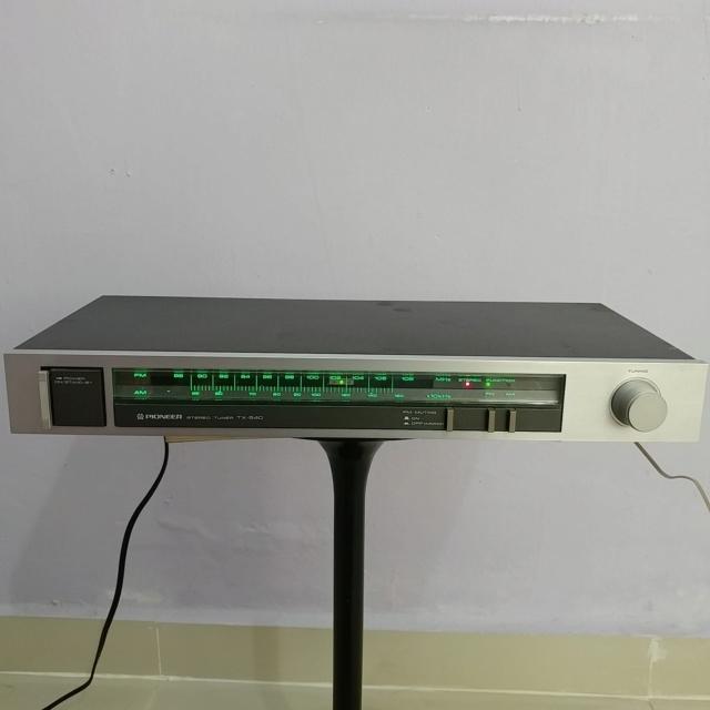 Pioneer vintage Analog FM Tuner TX-540 20190917