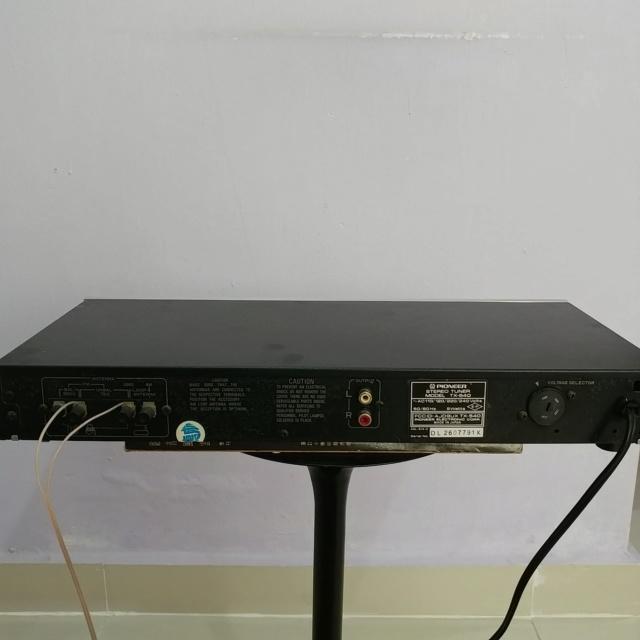 Pioneer vintage Analog FM Tuner TX-540 20190920