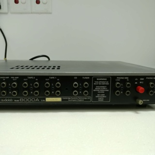 Audiolab 8000A Stereo British Integrated Amplifier 20190925
