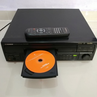 Pioneer Laser Disc CD Player CLD- S350 with Remote 20191026