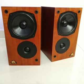 Castle CLIFTON England Made Stereo Bookshelf Speaker  20191215