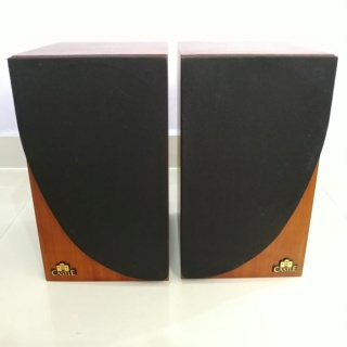 Castle CLIFTON England Made Stereo Bookshelf Speaker  20191216