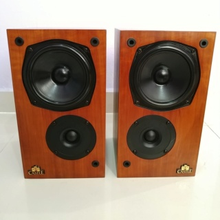 Castle CLIFTON England Made Stereo Bookshelf Speaker  20191217