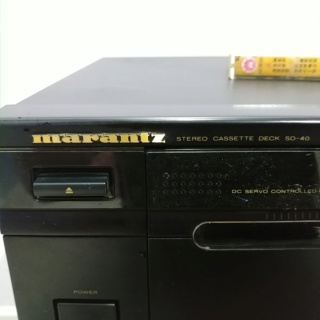 Marantz SD-40 Stereo Cassette Tape Player 20191229
