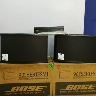 Bose 901 Series VI Special Edition Flagship Loud Speaker With Active Equalizer 20191251