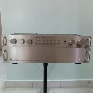 Phase Linear USA Made Pre-Amplifier Model 3300 Series II and Stereo Power Amplifier Model 300 Series II 20200156