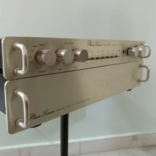 Phase Linear USA Made Pre-Amplifier Model 3300 Series II and Stereo Power Amplifier Model 300 Series II 20200157