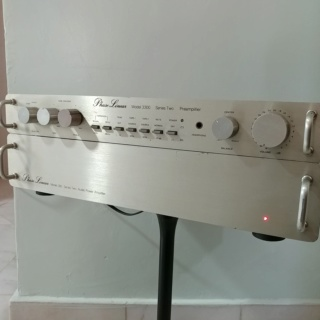Phase Linear USA Made Pre-Amplifier Model 3300 Series II and Stereo Power Amplifier Model 300 Series II 20200158