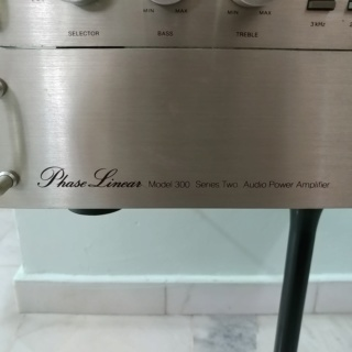 Phase Linear USA Made Pre-Amplifier Model 3300 Series II and Stereo Power Amplifier Model 300 Series II 20200160