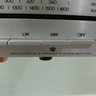 B&O Bang and Olufsen Beomaster 901 Stereo FM Tuner Receiver Amplifier 20200219