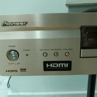Pioneer Top of the range DV-989AVi CD SACD and DVD player  20200233