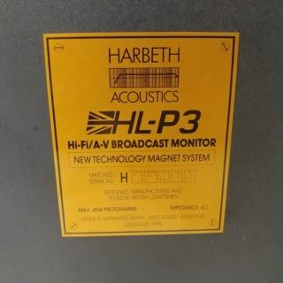 Harbeth HL-P3 England Center Speaker 20200321