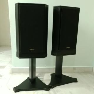 Tannoy 607 standmount speaker with original stand 20200322