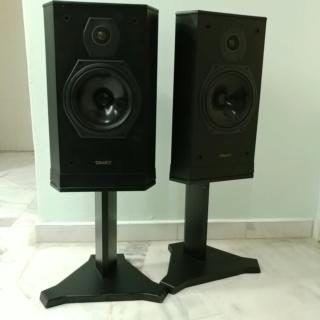 Tannoy 607 standmount speaker with original stand 20200324