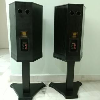 Tannoy 607 standmount speaker with original stand 20200326
