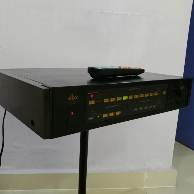 DBX CX-2 Stereo Preamplifier with Remote and MM MC phono input 20200511