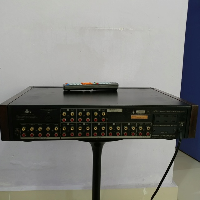 DBX CX-2 Stereo Preamplifier with Remote and MM MC phono input 20200514