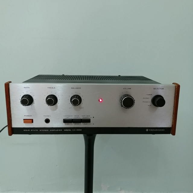Trio Kenwood KA-2002 Japan Made stereo integrated amplifier 20200515