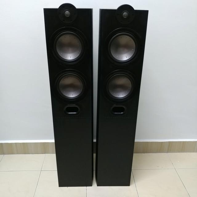 Mordaunt Short MEZZO 6 stereo floorstand speaker with Ori Spike 20200610