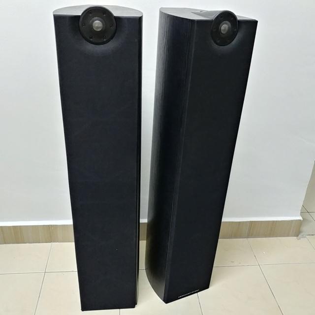 Mordaunt Short MEZZO 6 stereo floorstand speaker with Ori Spike 20200611