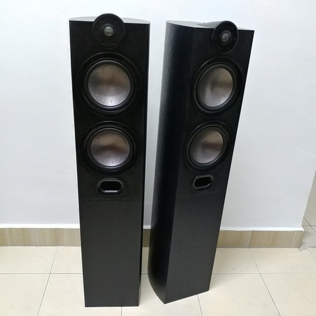 Mordaunt Short MEZZO 6 stereo floorstand speaker with Ori Spike 20200612