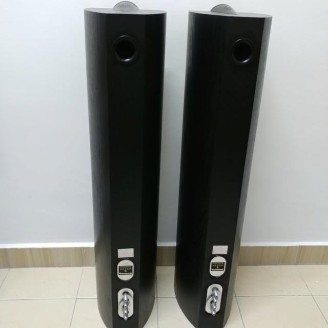 Mordaunt Short MEZZO 6 stereo floorstand speaker with Ori Spike 20200613