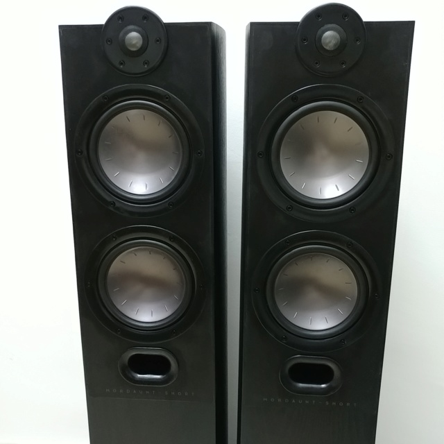 Mordaunt Short MEZZO 6 stereo floorstand speaker with Ori Spike 20200614