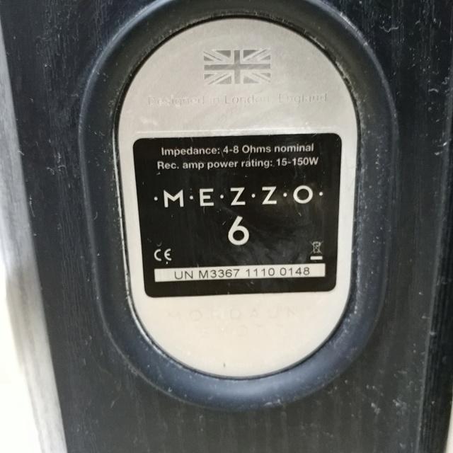Mordaunt Short MEZZO 6 stereo floorstand speaker with Ori Spike 20200616