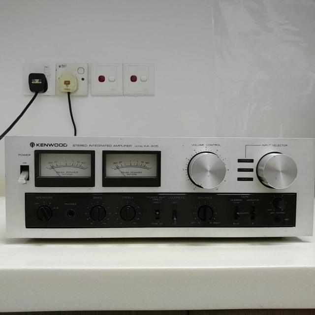 TRIO Kenwood KA-405 Japan Made Stereo Integrated Amplifier 20200650