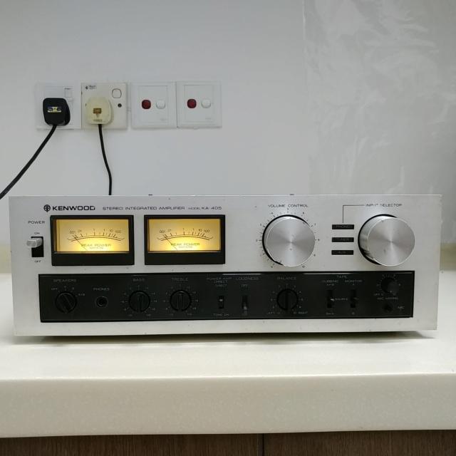TRIO Kenwood KA-405 Japan Made Stereo Integrated Amplifier 20200651