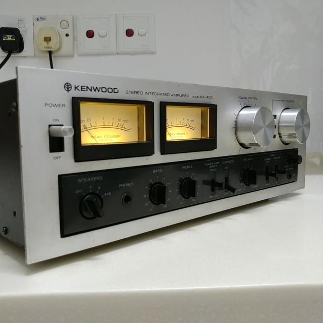 TRIO Kenwood KA-405 Japan Made Stereo Integrated Amplifier 20200652