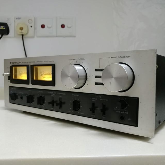 TRIO Kenwood KA-405 Japan Made Stereo Integrated Amplifier 20200653