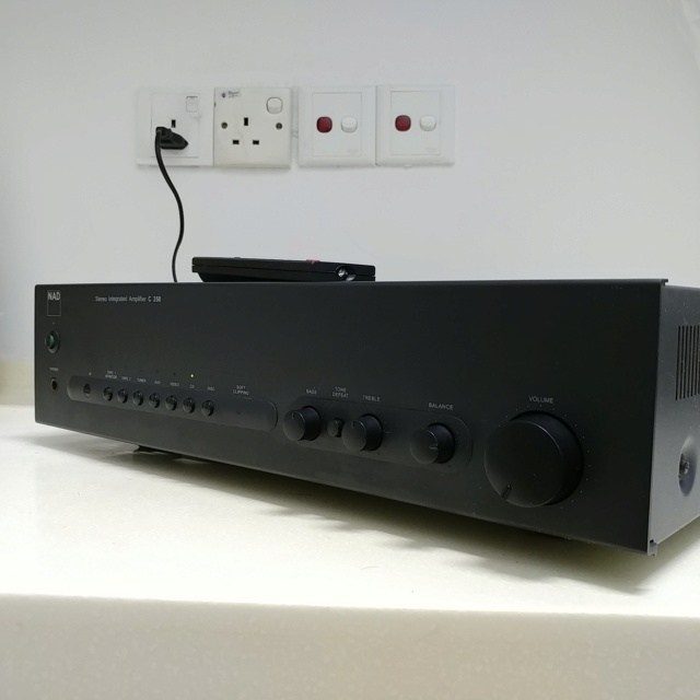 NAD C-350 Stereo Integrated Amplifier with Remote 20200733