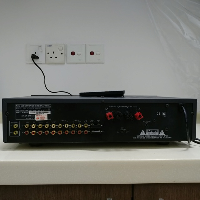 NAD C-350 Stereo Integrated Amplifier with Remote 20200734