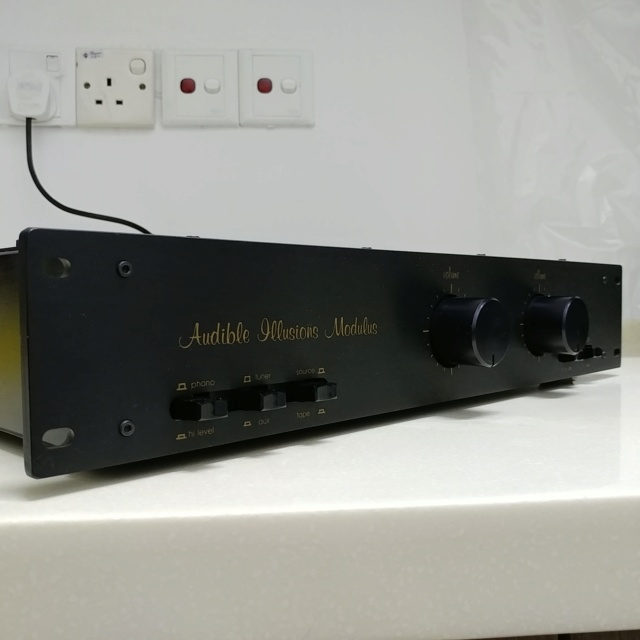 Audible Illusions Modulus 2D USA Made Dual Mono Vacuum Tube Preamplifier With MM phono  20200752