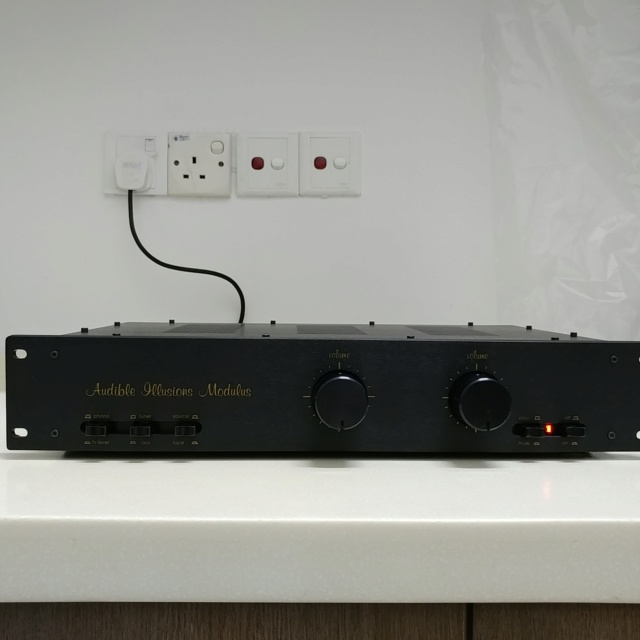 Audible Illusions Modulus 2D USA Made Dual Mono Vacuum Tube Preamplifier With MM phono  20200753