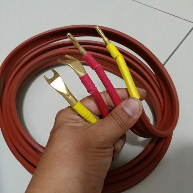 Van den Hul M.C Magnum Hybrid Hologen Free  Speaker Cable ( 3 M) 20200758
