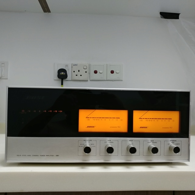 Bose 1801 USA Made Top of the Line Stereo Power Amplifier  20200766