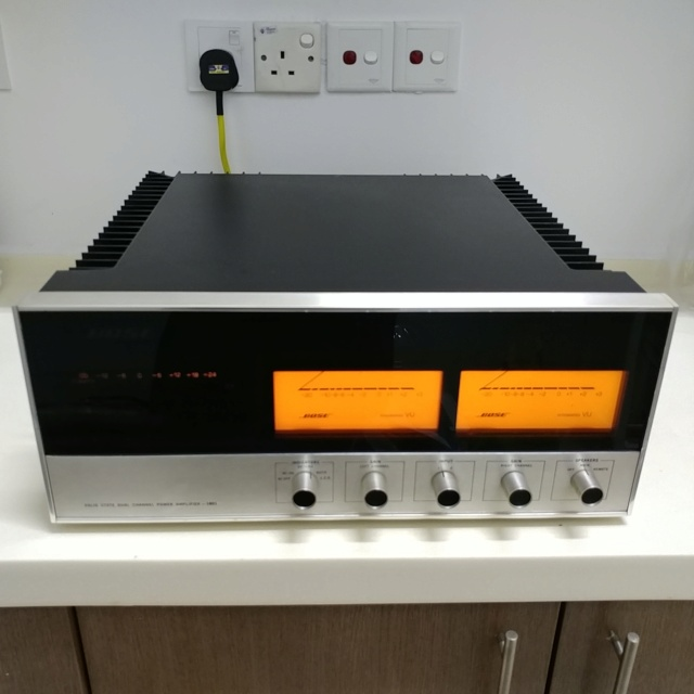 Bose 1801 USA Made Top of the Line Stereo Power Amplifier  20200767
