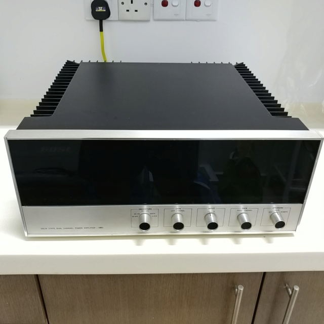 Bose 1801 USA Made Top of the Line Stereo Power Amplifier  20200768