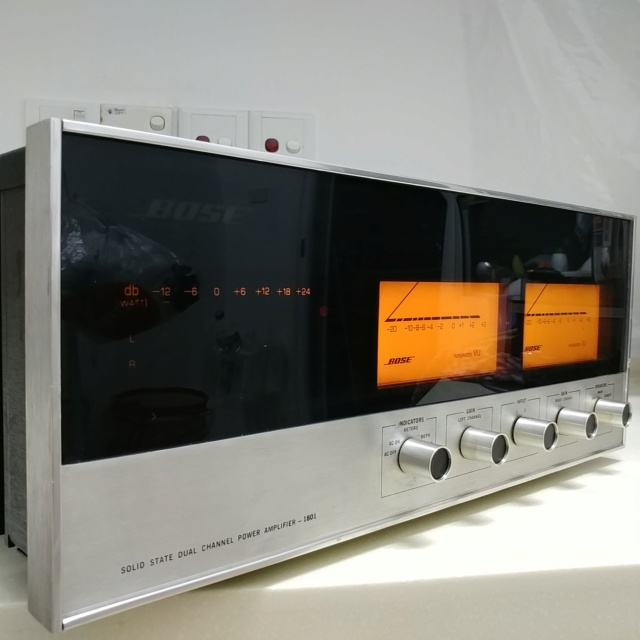 Bose 1801 USA Made Top of the Line Stereo Power Amplifier  20200769