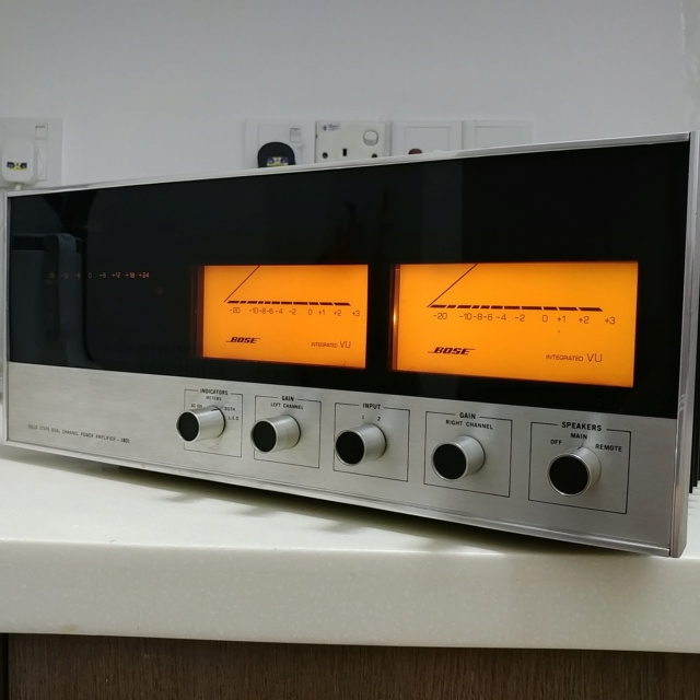 Bose 1801 USA Made Top of the Line Stereo Power Amplifier  20200771