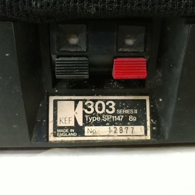 Kef 303 Series II England Vintage Stereo stand mount bookshelf speaker 20200814