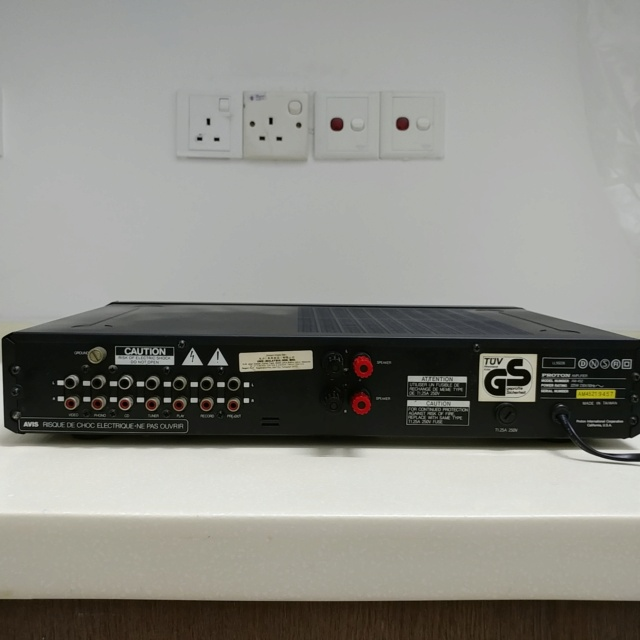 Proton AM-452 stereo integrated amplifier with phono  20201019