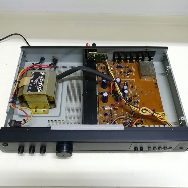 Proton AM-452 stereo integrated amplifier with phono  20201022